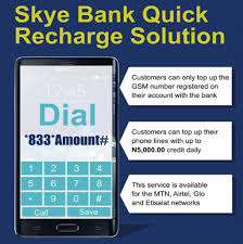 Skye Bank Mobile Banking: How to Activate Step By Step And Also Buy Airtime