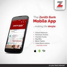 How To Use Zenith Bank Mobile For Different Transactions