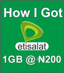 Etisalat 200 Naira Data Plan: How To Subscribe To This Plan And All The Benefits