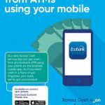 Ecobank ATM cardless withdrawal Step By Step Process