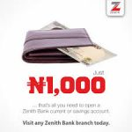 How To Open A Zenith Bank Current And Savings Account Step By Step Procedures With All You Must Know