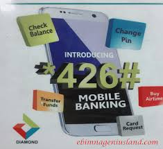 Diamond Bank Code: How To Use For Different Transactions And And Create Transfer Pin