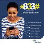 How To Use *833# Skye Bank Transfer Code For Transactions And Get The Pin