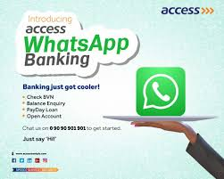 How To Setup Access Bank Watsapp Banking And Use For Different Transactions With Benefits