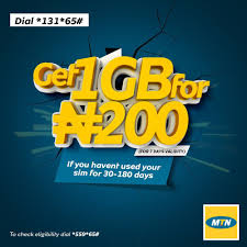 How To Subscribe To MTN 1GB For 200 Naira And All You Need To Know