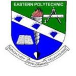How To Register Courses, Check Result And All You Must Know About Eastern Polytechnic Port